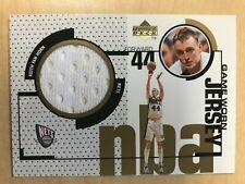 1998-99 Upper Deck Keith Van Horn Game Worn Jersey GJ32 Insert New Jersey Nets