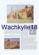 L'illustration 4199 du 25/08/1923 Turquie Konya mosquée Ala Eddine Saint-Sauveur