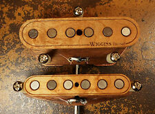 Wiggins Brand, hand wound, Telecaster set, Alnico, Made to order, Wood pickup