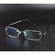 Randlose Brillen Herren Optische Brillen Speicher Titan Brillengestell