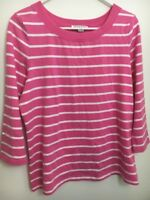 Pendleton Womens Large Long sleeve Stripe Shirt Blouse Cotton