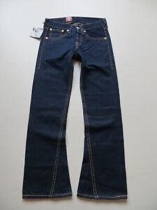 Levi's Type 1 Lot 907 Bootcut Jeans Hose W 28 /L 32 NEU ! Goldgräber Denim RAR !