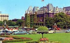 Old Photo. Victoria, BC, Canada. C.P.R. Empress Hotel