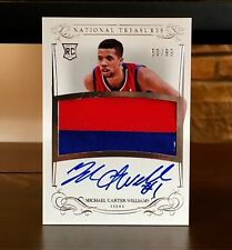 2013-14 National Treasures Michael Carter Williams Rookie Patch Auto RPA /99