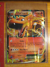 PL JUMBO Pokemon CHARIZARD EX Card XY FLASHFIRE Set 11/106 Big OVERSIZED Played