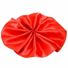 Package of 5 Satin Napkins - Red Wedding Party Holiday Dinner Catering