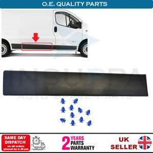 Side Moulding Long Center Trim Right For Vauxhall Opel Vivaro A MK1 2001-2014