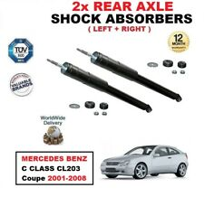 REAR LEFT RIGHT SHOCK ABSORBERS for MERCEDES BENZ C CLASS CL203 Coupe 2001-2008
