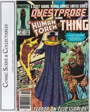 QUESTPROBE  #3  {1985}  MARVEL.  LIMITED SERIES,  HUMAN TORCH, THE THING