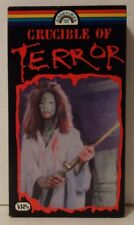 Crucible Of Terror Rare & OOP Horror Movie Original Goodtimes Home Video VHS