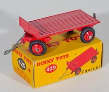 Dinky 429 Trailer. Red. MINT in correct Box. Original 1950's issue.