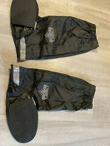 Nelson-Rigg Black Waterproof Rain Boot Covers  L ( 9-11) style WPRB-100-03-LG