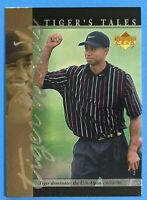 Tiger Woods ROOKIE 2001 Upper Deck Golf #TT25 PGA Golf Series: Tiger's Tales