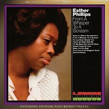 From A Whisper To A Scream:expanded Edition - Esther Phillips (2016, CD NEUF)