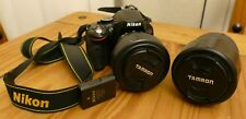 Nikon D5100 16.2MP Digital SLR Camera + Lenses & extras!