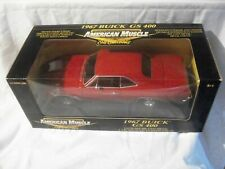 1:18 Diecast Car ~ Ertl American Muscle ~ 1967 Buick GS 400 ~ Red