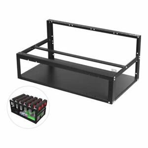 Open Mining Rig Frame ETH/ETC/ZEC Ether Accessories Tool for 6/8 GPU