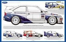 Ford Escort Cosworth WRC test car poster
