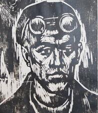 Vintage man portrait art print