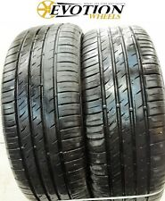 2055516 KUMHO 205 55 16 91V ECOWING Used Part Worn 8mm x 2 Tyres