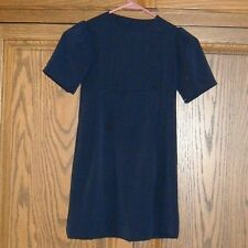 AMISH  GIRLS BLUE 2 PIECE  DRESS-HANDMADE 26 '' BUST 24'' WAIST