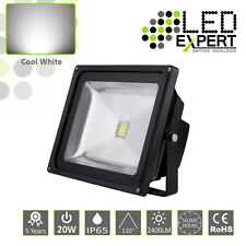 LED Expert 20w LED Flood Light Security 5 Year Warranty IP65 Cool White