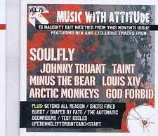 SOULFLY / JOHNNY TRUANT / TAINT / MINUS THE BEAR +  ROCK SOUND CD Vol. 78