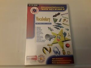 'Sats' Key Stage 2 - Volcabulary (PC CD ROM, Ages 7 to 11) New Sealed Freepost