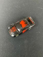 HO SLOT CAR NASCAR LIFE LIKE FAST TRACKER BLACK #1 DODGE