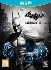 Batman arkham city armoured edition nintendo wii u uk pal ** gratuite ru livraison **