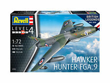 Hawker Hunter FGA9 100 Years RAF (British Legends) 1:72 Revell Model Kit