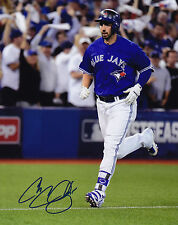 Toronto Blue Jays Chris Colabello Signed MLB Baseball 8x10 Photo Autograph Pic