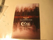 W. R. Case XX 2014 Fall Product Guide, 62 pages 6.5 x 9.5 (52)