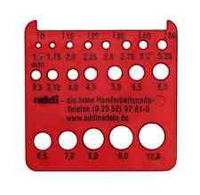 addi Nadelmaß rot ca. 6 x 5,5 cm