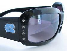 North Carolina Tar HEELS Black Crystal Womens Sunglasses UNC 4 JT