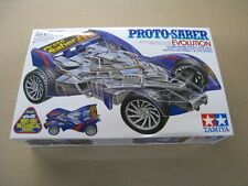 Tamiya Vintage 1/32 mini 4WD Proto Saber Evolution New in box
