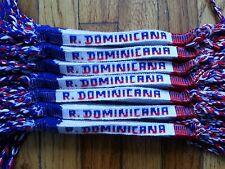 12 Handmade Friendship Bracelet Cotton  R. Dominicana