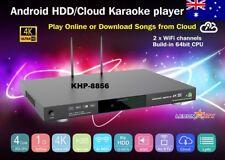 ANDROID KARAOKE 8856, 5TB HDD 56500 VIETNAMESE, ENGLISH SONGS NEW 64 BITS CPU 4K