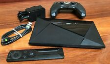 NVIDIA Shield TV Pro 500GB Streaming Media Player model P2571 with accessories