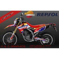 ! nuevo! Honda CRF250L CRF250M CRF 250 Kits Pegatina de gráficos CRF250