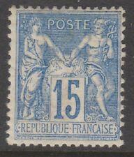 France - 1878, 15c Blue stamp - M/M - SG 257 or 258