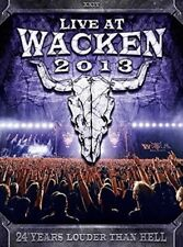 LIVE AT WACKEN 2013 2 CD NEW+