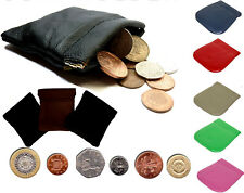 PU Leather Coin Pouch | STRONG Metal Spring Closure | Snap Top Coin Purse*sprCn