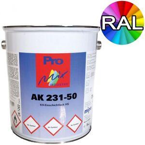 Rostschutz Lack RAL Farben Metall Alu Schutzlack Farbe Grundierung 3in1 Mipa