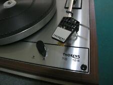 Platine Disque vinyle vintage Thorens TD 165 Complète et fonctionnelle