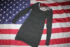 Soprano Black Polka Dot Mini Dress Size Large: dressy/casual/skinny/slimmi #5506
