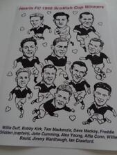 Heart of Midlothian FC Hearts FC 1956 Scottish Cup Final Glidden Bauld Cumming