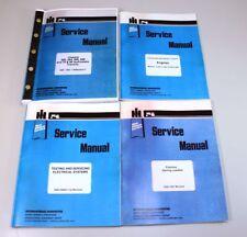 INTERNATIONAL IH 656 DIESEL TRACTOR ENGINE SERVICE REPAIR MANUAL SHOP BOOK SET