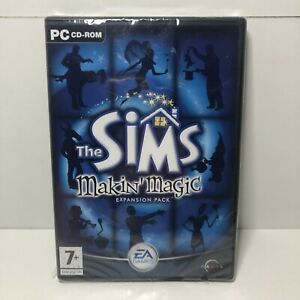The Sims: Makin' Magic Expansion Pack PC CD ROM Game Sealed Rated 7+