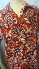 EXTREMELY RARE VTG 1974 Hawaiian SHRINER POTENTATE Marshall Wilkings Shirt  L